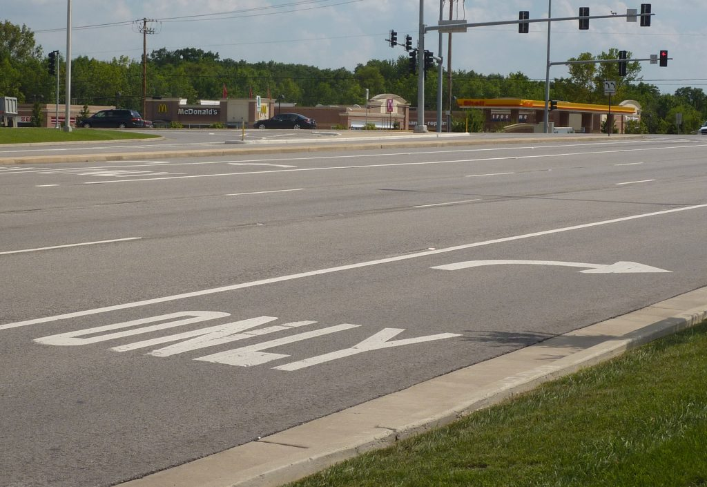 Intersection Improvements at Kirk Road and Butterfield Road