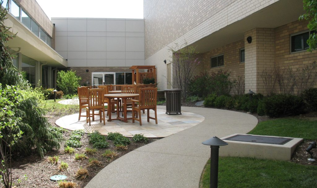 Relaxation Garden, LaGrange Memorial Hospital